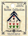Hand-Painted Ceramic Buttons by Mill Hill