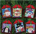 Christmas Pals Ornaments 6 Pack