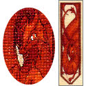 Red Dragon Bookmark