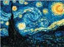 Starry Night After Van Gogh's Painting