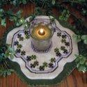 Little Candle Mats- Shamrocks