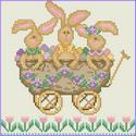 All Aboard!  The Bunny Express