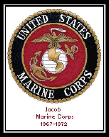 Marine Corps Seal By Cody Country Crossstitch