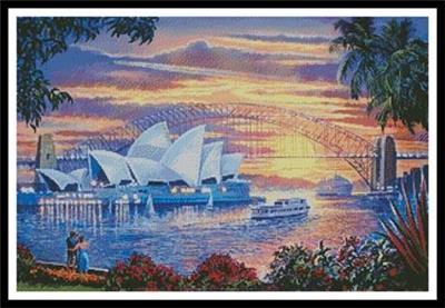 Sydney Opera House Cross Stitch Kit