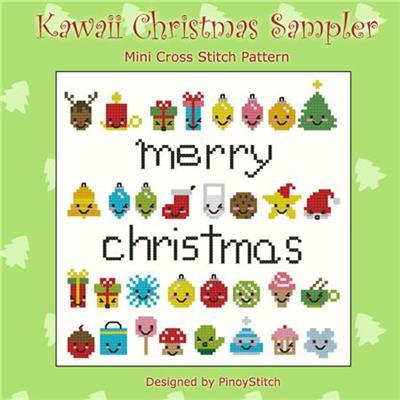 Kawaii Christmas.Kawaii Christmas Mini Sampler