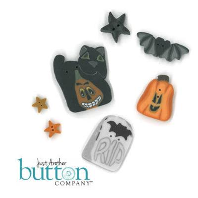 Everything Cross Stitch - Be a Witch Button Pack