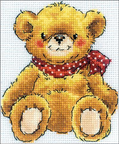 Everything Cross Stitch Teddy Bear