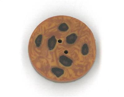 Everything Cross Stitch - Small Chocolate Chip Cookie button