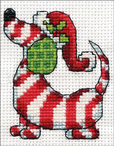 """14 Count Design Works Counted Cross Stitch Kit 2/""""X3/""""-Candle"""