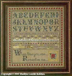 Butternut Road Cross Stitch Chart-Your Choice