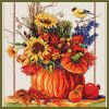 Cross Stitch Pattern of the Seasons